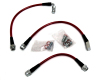 AP 04-06 Cadillac CTS-V Rear Stainless Steel Brake lines
