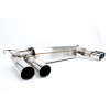 Dinan Free Flow Stainless Steel Exhaust -BMW X5 2016-2015 X6 2016-2015