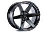 Cosmis Racing S1 Black w/ Milled Spokes 18x10.5 +5mm 5x114.3 Wheel