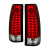 Spyder Chevy C/K Series 1500 88-98/Blazer 92-94 LED Tail Lights Red Clear ALT-YD-CCK88-LED-RC