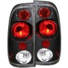 ANZO 1997-2003 Ford F-150 Taillights Carbon