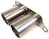Agency Power Titanium Exhaust Brushed Tips Porsche 997 GT3 GT3RS 07-12