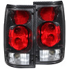 ANZO 1989-1995 Toyota Pickup Taillights Carbon