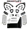 ReadyLift Suspension 07-13 GM/Chevy 1500 SST Lift Kit 4.0in Front A-Arm 1.75in Rear Kit