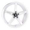 Cosmis Racing R5 White Wheel 18x8.5 +40mm Offset 5x108