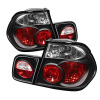 Spyder BMW E46 3-Series 99-01 4Dr Euro Style Tail Lights- Black ALT-YD-BE4699-4D-BK