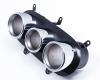 Agency Power Stainless Race Exhaust Tips Ferrari 458 Italia/Speciale