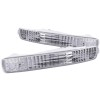ANZO 1996-1997 Honda Accord Euro Parking Lights Chrome