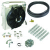 BD Diesel Xtrude Double Stacked Transmission Cooler Kit - Universial 1/2in Tubing