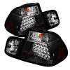 Spyder BMW E46 3-Series 02-05 4Dr Tail Lights Blk ALT-YD-BE4602-4D-LED-BK