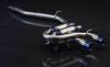 Agency Power Titanium Catback Exhaust System Volkswagen Golf R MK6