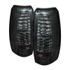 Spyder Chevy Avalanche 07-13 LED Tail Lights Smoke ALT-YD-CAV07-LED-SM