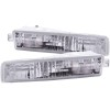 ANZO 1997-2001 Honda Prelude Euro Parking Lights Chrome