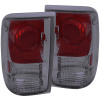 ANZO 1993-1997 Ford Ranger Taillights Smoke