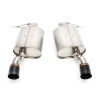 Dinan Free Flow Stainless Steel Exhaust w/ Black Tips -BMW 335i 2011-2007 335i xDrive 2011-2009