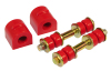Prothane 00-04 Ford Focus Rear Sway Bar Bushings - 20mm - Red