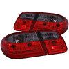 ANZO 1996-2002 Mercedes Benz E Class W210 Taillights Red/Smoke G2