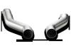 Akrapovic 12-14 Porsche Cayenne S Diesel (958) Link-Pipe Set (Titanium)
