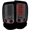 ANZO 1994-2001 Dodge Ram LED Taillights Smoke