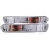 ANZO 1994-1995 Honda Accord Euro Parking Lights Chrome