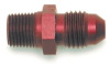 Edelbrock 4An X 1/8In NPT Straight Fitting Red