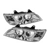 Spyder BMW Z3 96-02 Projector Headlights LED Halo Chrome High H1 Low H1 PRO-YD-BMWZ396-HL-C