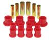 Prothane 04-06 Ford F150 Rear Leaf Spring Bushings - Red