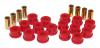 Prothane 07-11 Jeep Wrangler Rear Control Arm Bushings - Red