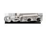 Akrapovic 16-17 Porsche 911 Carrera S/4/4S/GTS (991.2) Link Pipe Set w/ Cat (SS)