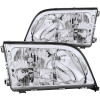 ANZO 1992-1999 Mercedes Benz S Class W140 Crystal Headlights Chrome