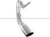 aFe Atlas 5in DPF-Back Aluminized Steel Exh Sys, Ford Diesel Trucks 08-10 V8-6.4L (td) Polished tip