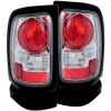 ANZO 1994-2001 Dodge Ram Taillights Chrome