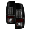 Spyder 97-03 Ford F-150 Styleside Version 2 LED Tail Lights Black Smoke ALT-YD-FF15097-LED-G2-BSM