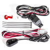 ANZO 12V Wiring Kit Universal 12V Auxiliary Wiring Kit w/ Illuminated Switch