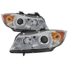 Spyder BMW E90 3-Series 06-08 4DR V2 Headlights - HID Only - Chrome PRO-YD-BMWE9005V2-AFSHID-C