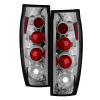 Spyder Chevy Avalanche 02-06 Euro Style Tail Lights Chrome ALT-YD-CAV04-C