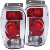 ANZO 1998-2001 Ford Explorer Taillights Chrome