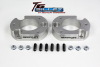 ReadyLift Suspension 04-15 Ford F150/Mark LT 2.0in T6 Billet Alum Leveling Kit Anodized - Silver