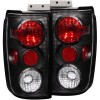 ANZO 1997-2002 Ford Expedition Taillights Black
