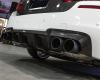 AP 2013+ BMW F10 M5 Carbon Fiber Rear Diffuser