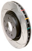 DBA 03-05 Evo 8/9 Rear Slotted 4000 Series Rotor