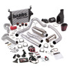 Banks Power 03-04 Ford 6.0L ECLB Big Hoss Bundle - SS Single Exhaust w/ Chrome Tip