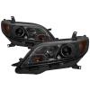 Spyder 11-14 Toyota Sienna Projector Headlights - DRL LED - Smoke PRO-YD-TSEN11-DRL-SM