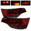 Spyder Audi Q7 07-09 LED Tail Lights Red Smoke ALT-YD-AQ707-LED-RS