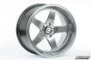 Cosmis Racing XT-005R Wheel Hyper Black 18x10 +20mm 5x114.3