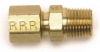 Edelbrock 3/16 Tube X 1/8In NPT Compression Fitting