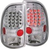 ANZO 1997-2004 Dodge Dakota LED Taillights Chrome