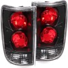 ANZO 1995-2005 Chevrolet Blazer Taillights Dark Smoke