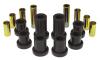 Prothane 07-14 Chevy Silverado 2/4wd Upper/Lower Front Control Arm Bushings - Black