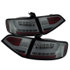 Spyder Audi A4 09-12 4Dr LED Tail Lights LED Model Smke ALT-YD-AA409-L-LED-SM